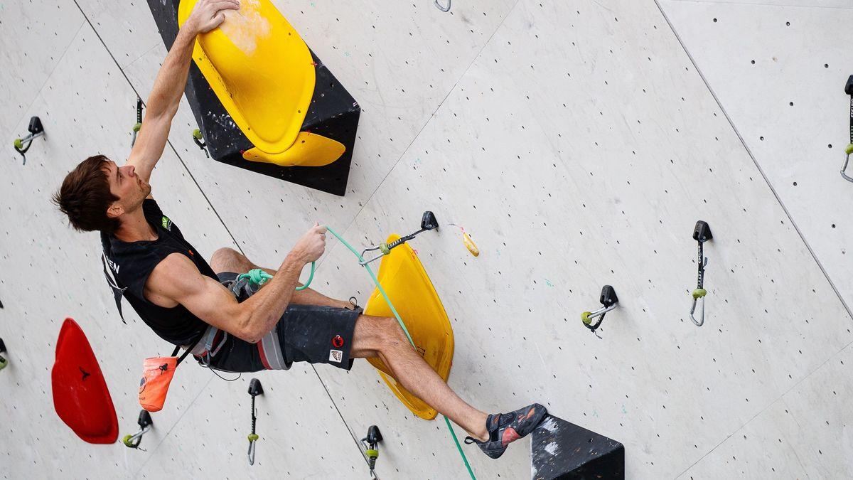 Sport- und Wettkampfkletterer Jan Hojer