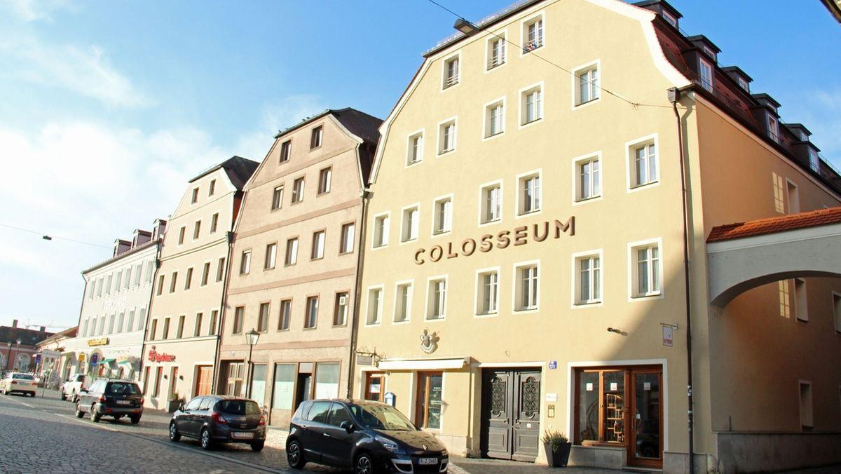 """Das """"Colosseum"""" in Regensburg"""