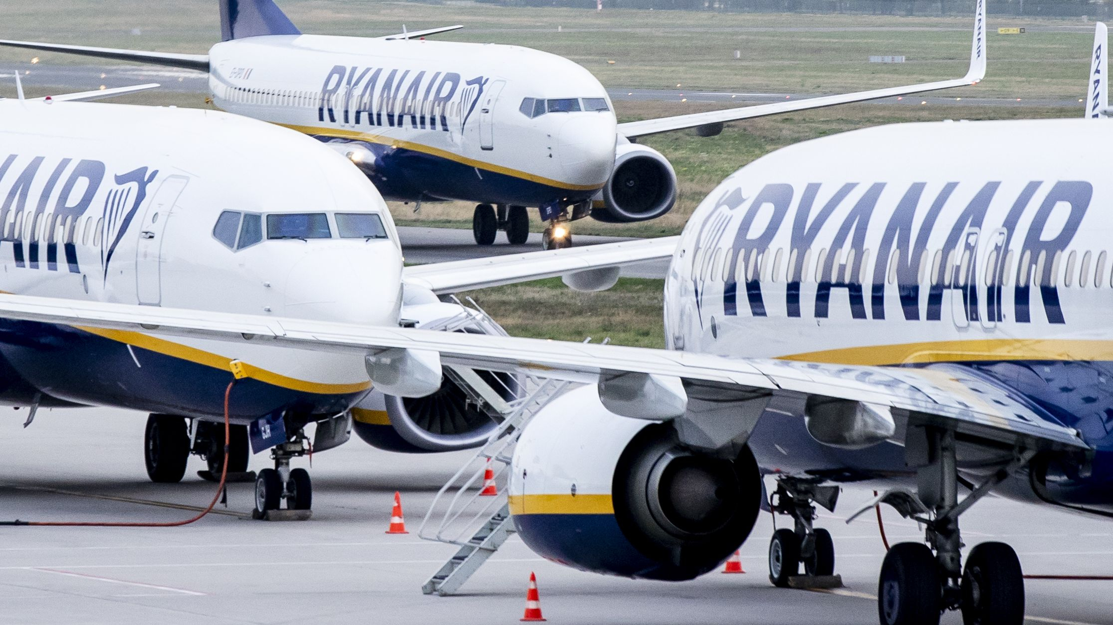 Maschinen von Ryanair