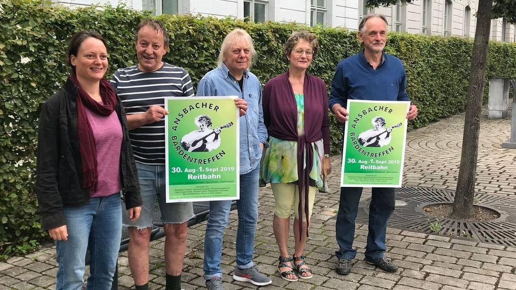 Beim diesjährigen Ansbacher Bardentreffen dreht sich alles rund um Bands aus der Region. Die Organisatoren stellten am Mittwoch das Programm vor.