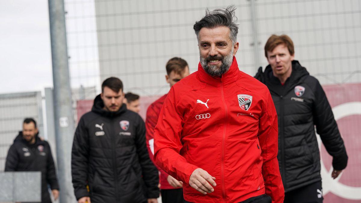 Tomas Oral vor dem ersten Training mit dem FC Ingolstadt