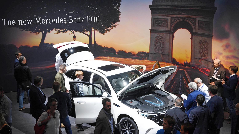 Mercedes Benz EQC, elektrischer SUV, vorgestellt am 01. Oktober im Vorfeld der Automesse in Paris
