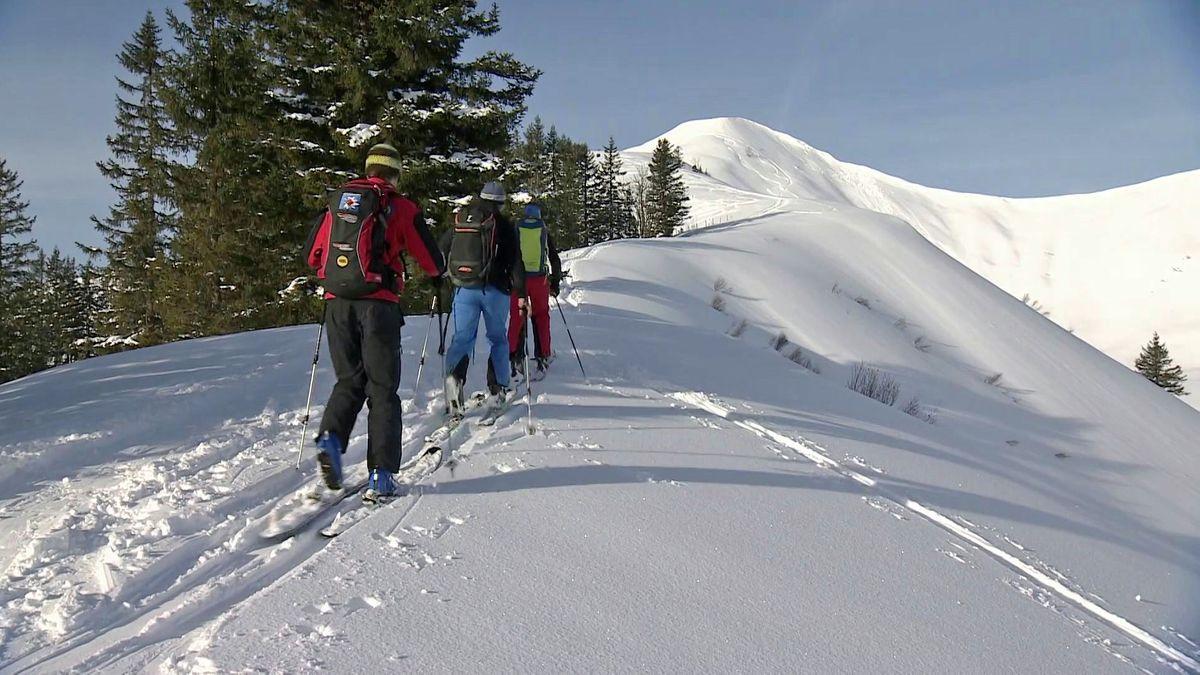 Skitourengeher am Riedberger Horn (Archiv)