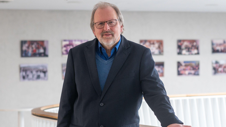 Der Präsident des Deutschen Lehrerverbands, Heinz-Peter Meidinger
