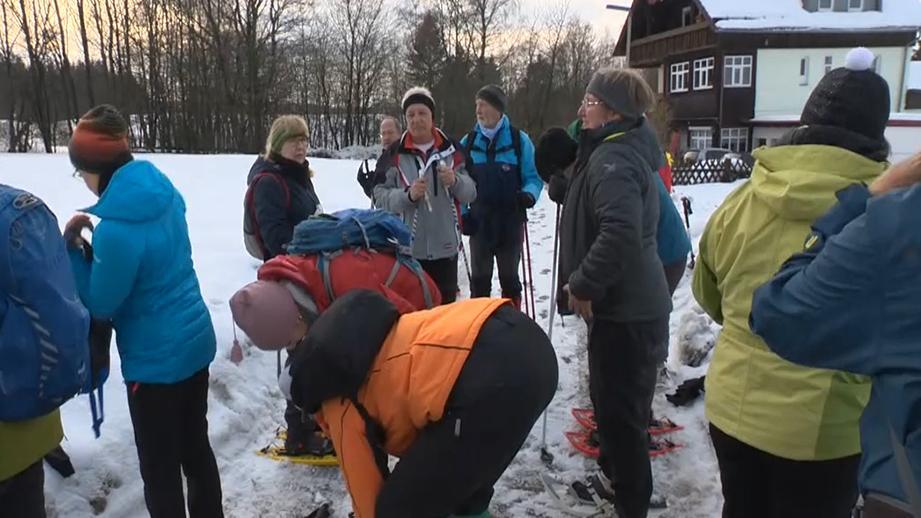 Winterwanderung am Ochsenkopf