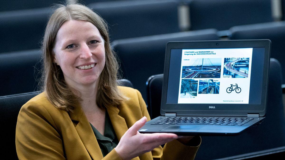 Jana Kühl, Professorin für Radverkehrsmanagement an der Ostfalia Hochschule