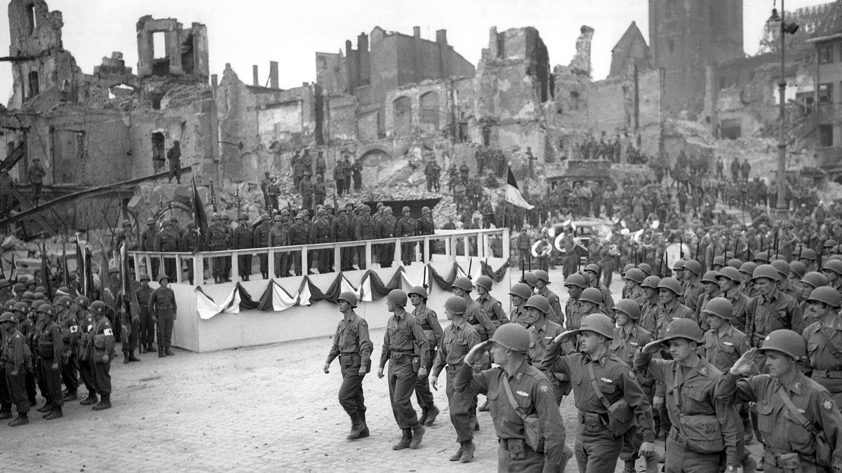 Einmarsch der Amerikaner in Nürnberg