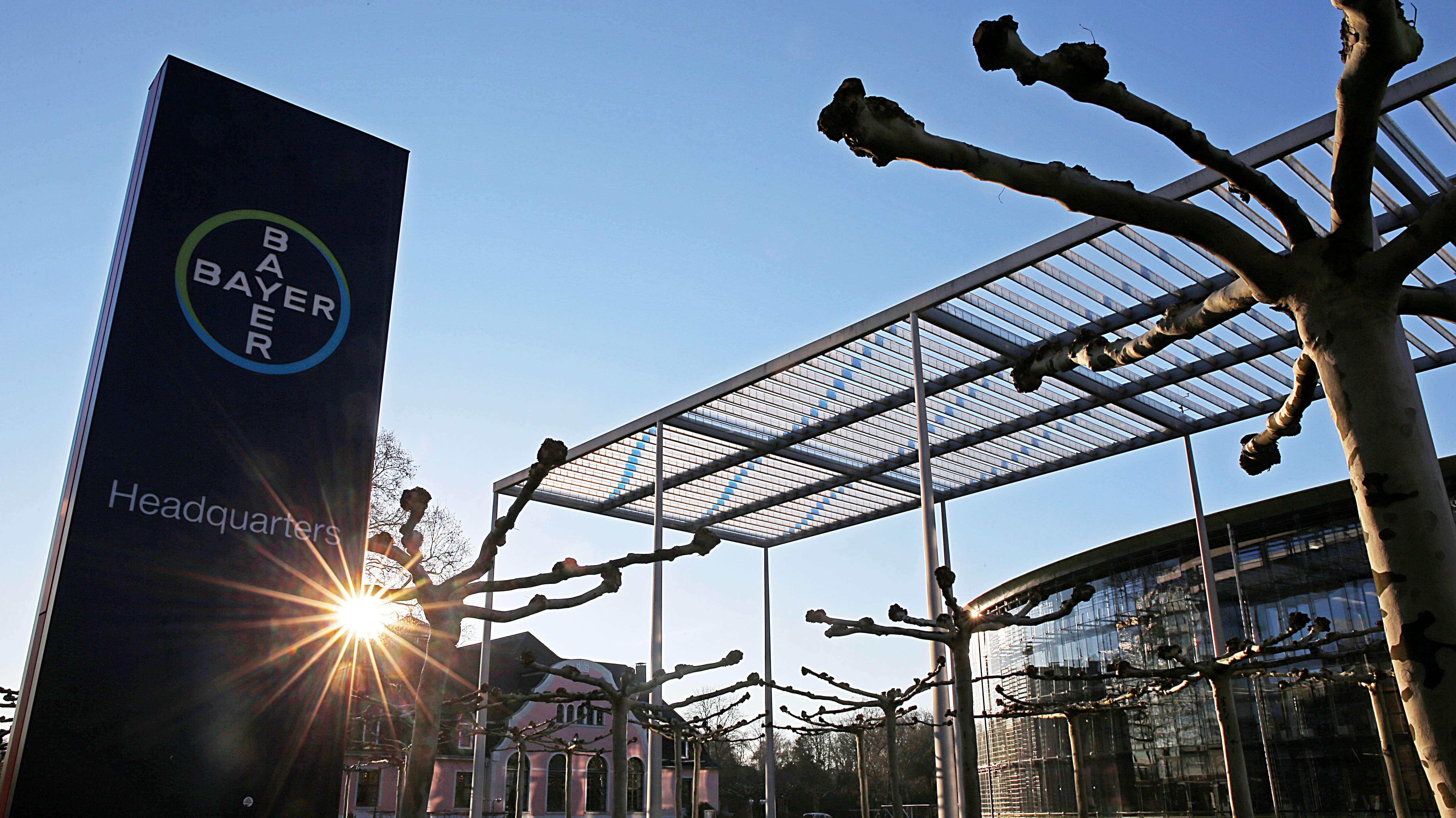 Die Konzernzentrale von Bayer in Leverkusen