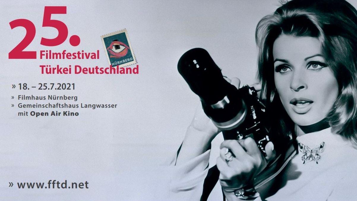 Plakat des 25. Filmfestivals Türkei Deutschland