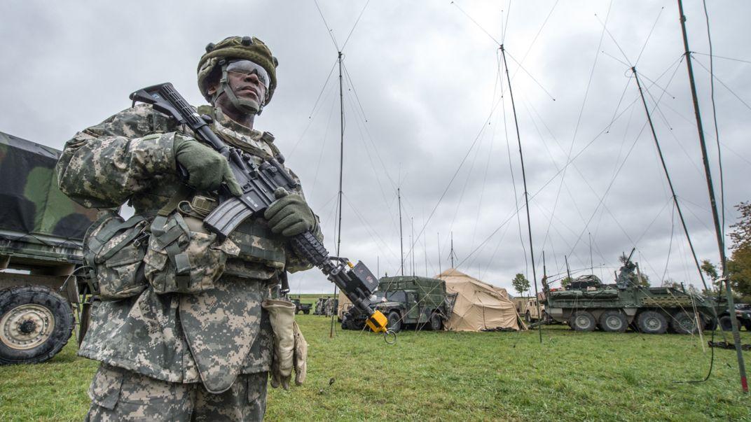 US-Soldat in Grafenwöhr