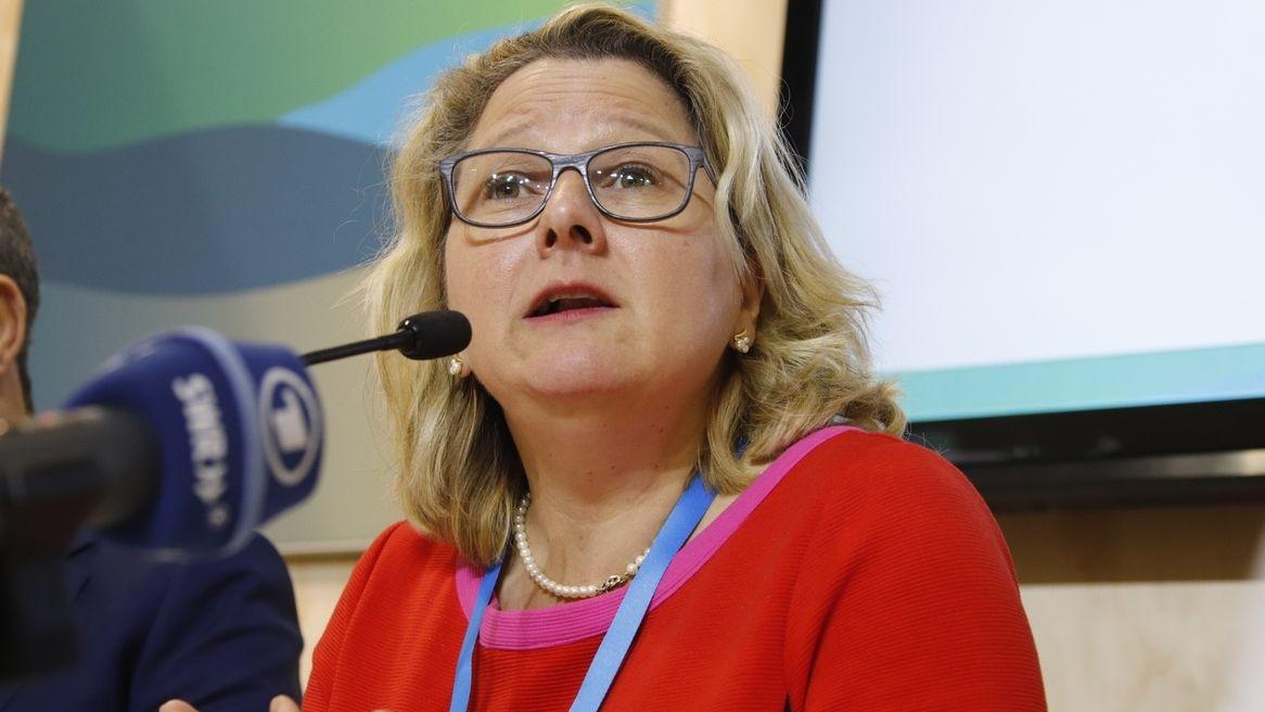 Svenja Schulze, Bundesumweltministerin