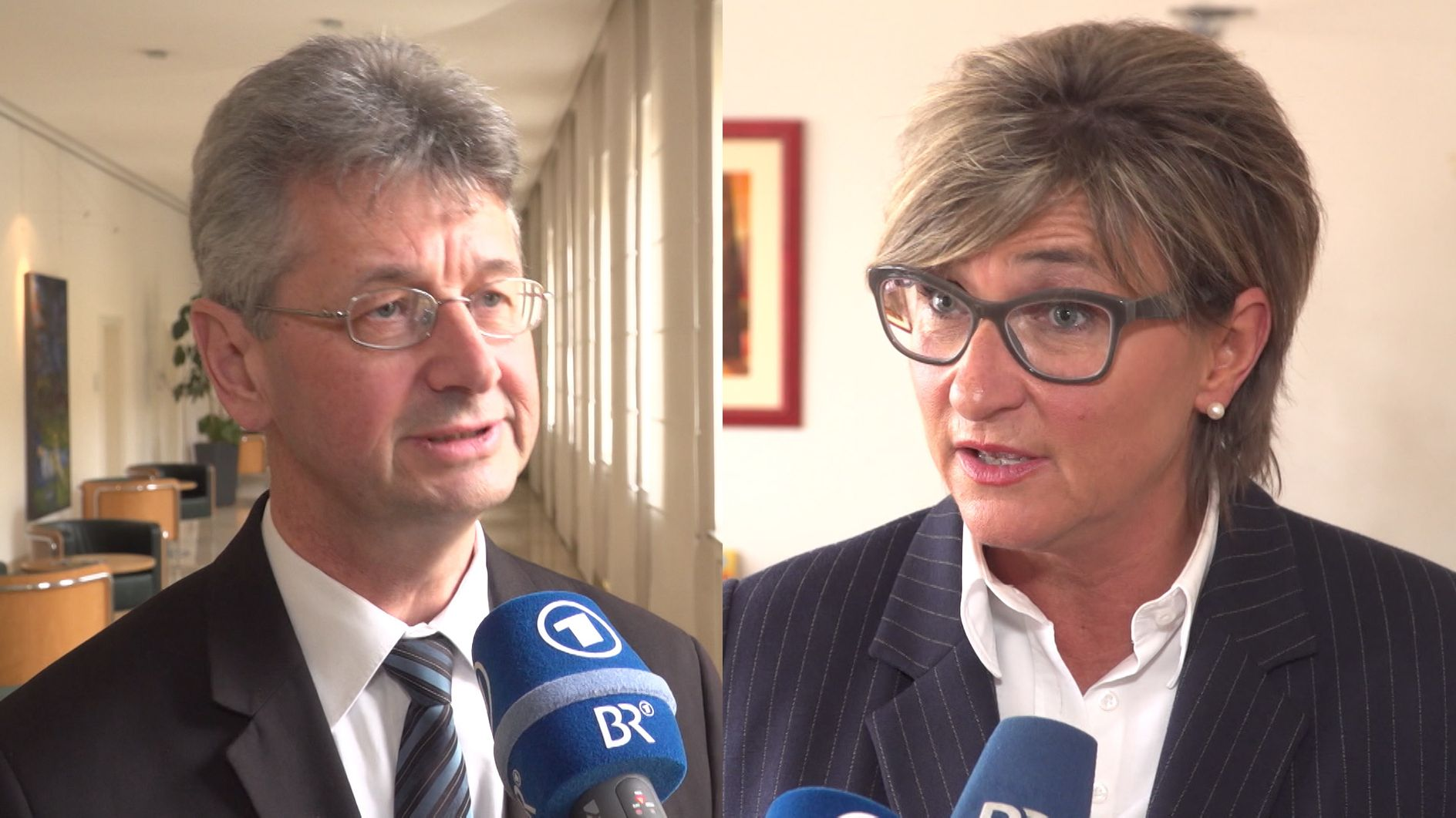 Kultusminister Piazolo, Simone Fleischmann, BLLV-Präsidentin
