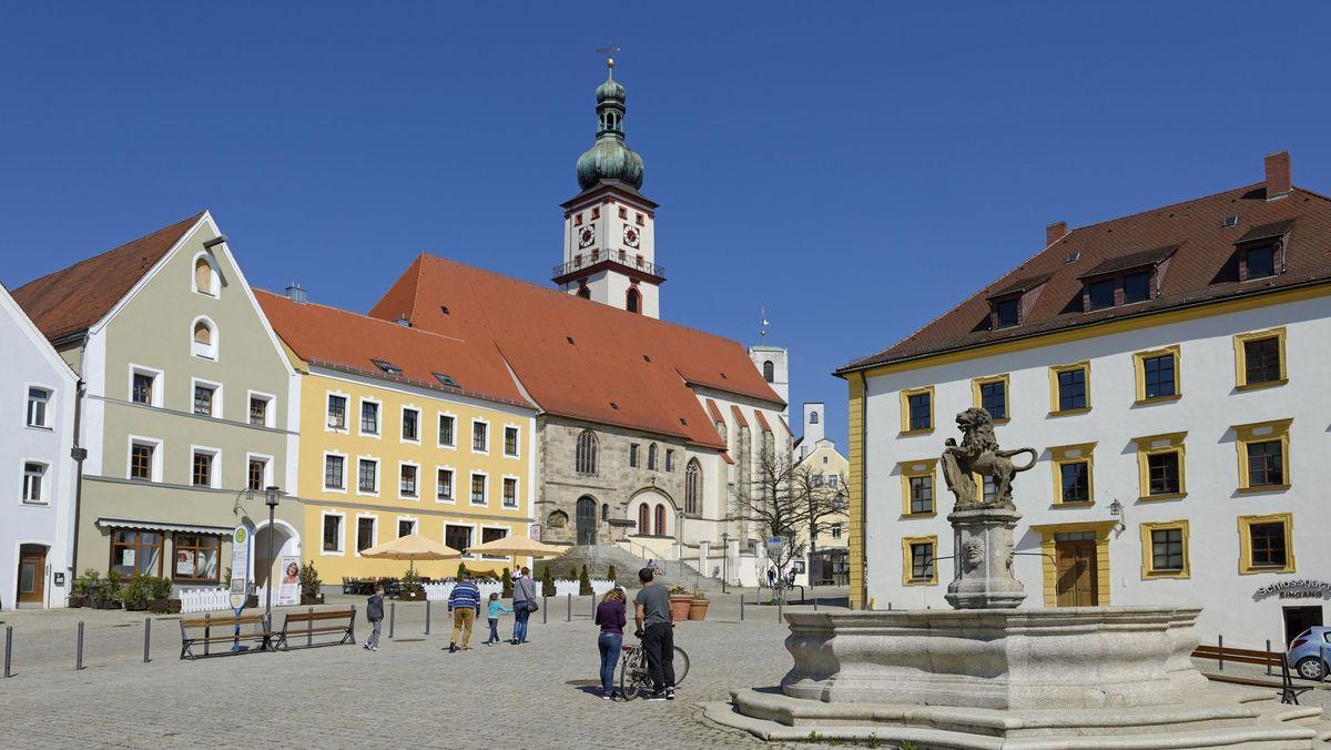 Bild von der Sulzbach-Rosenberger Altstadt