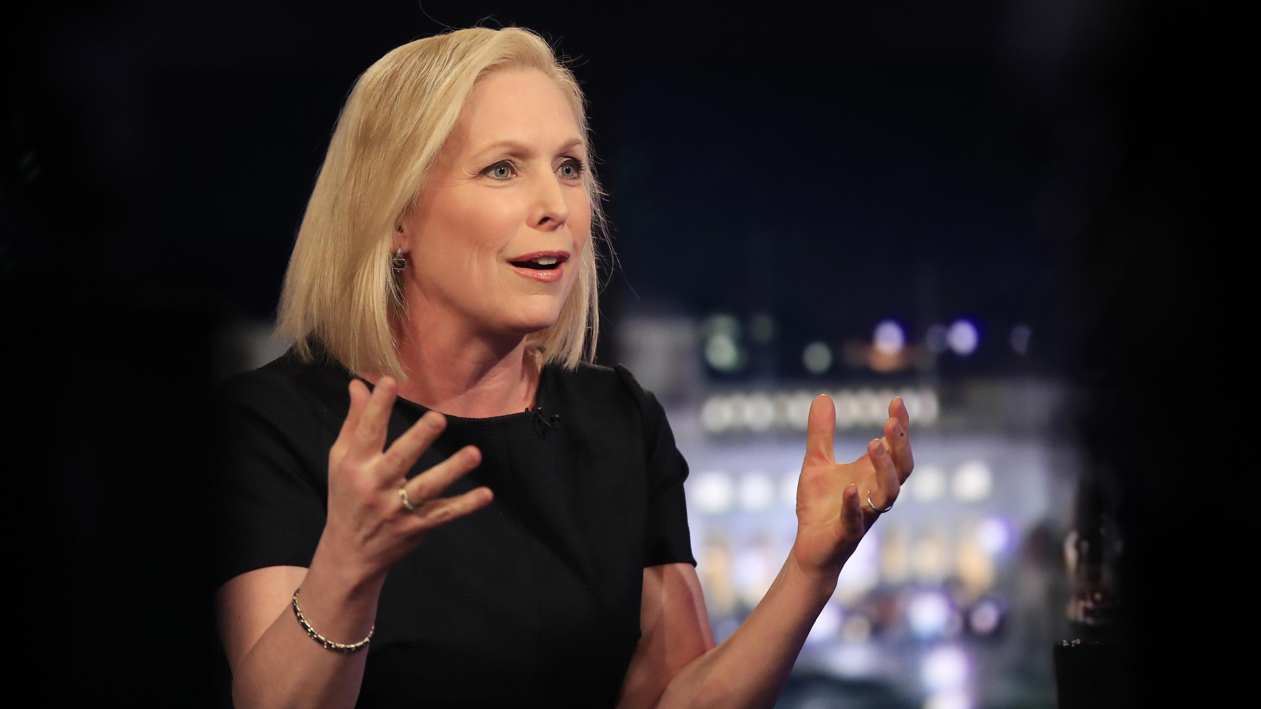 Will ins Weiße Haus: Senatorin Kirsten Gillibrand