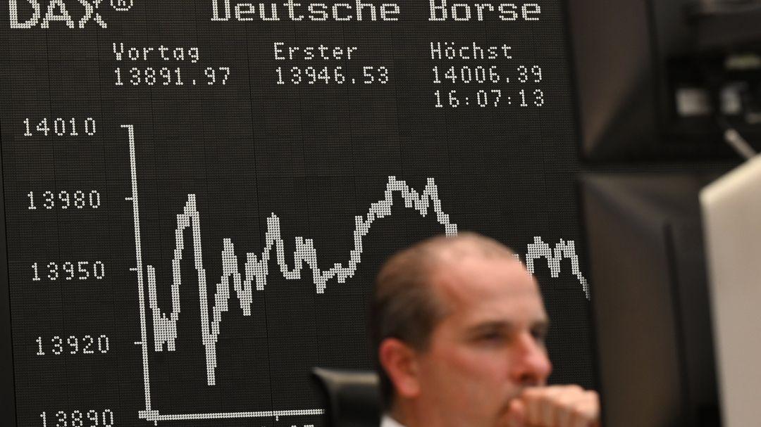 Börse Frankfurt Handelsparkett
