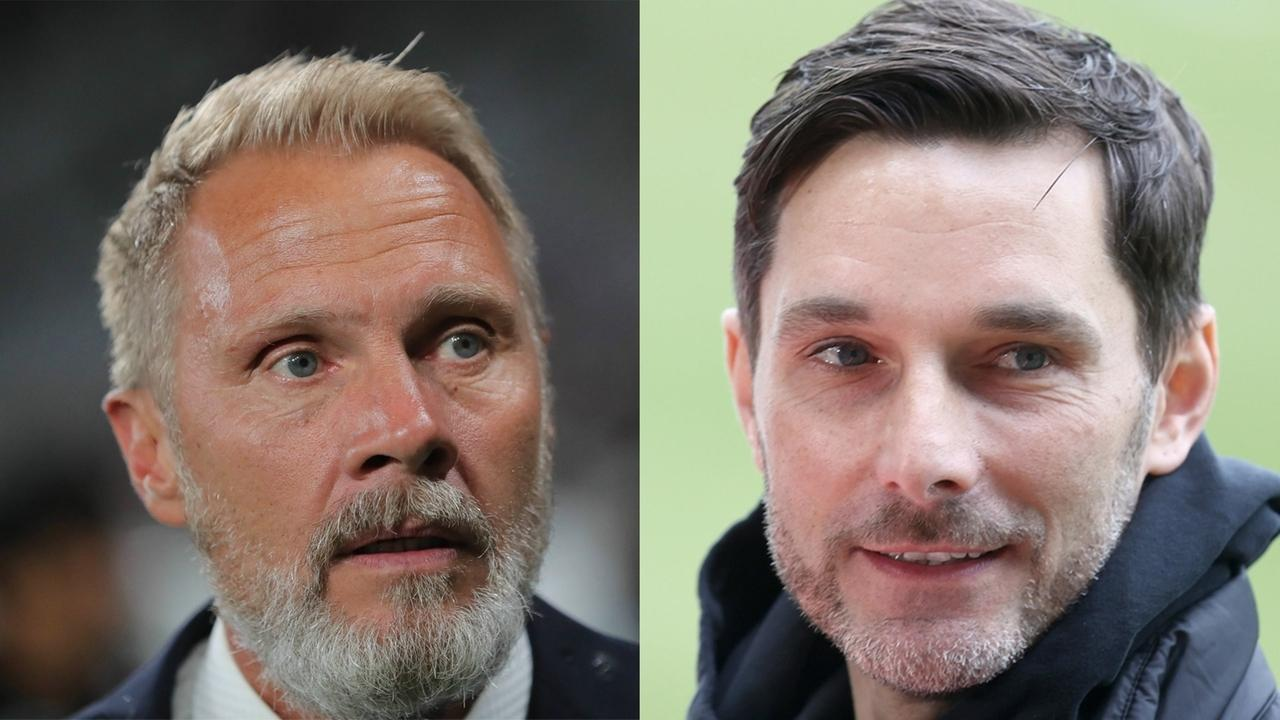Thorsten Fink und Stefan Leitl