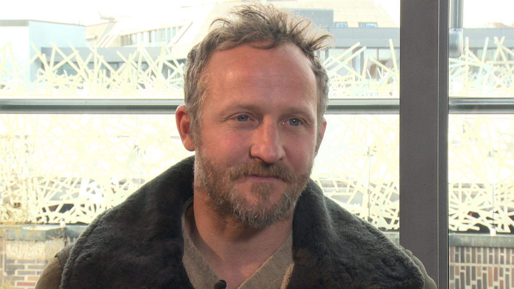 Maximilian Brückner beim Filmbrunch 2019 des BR im Interview