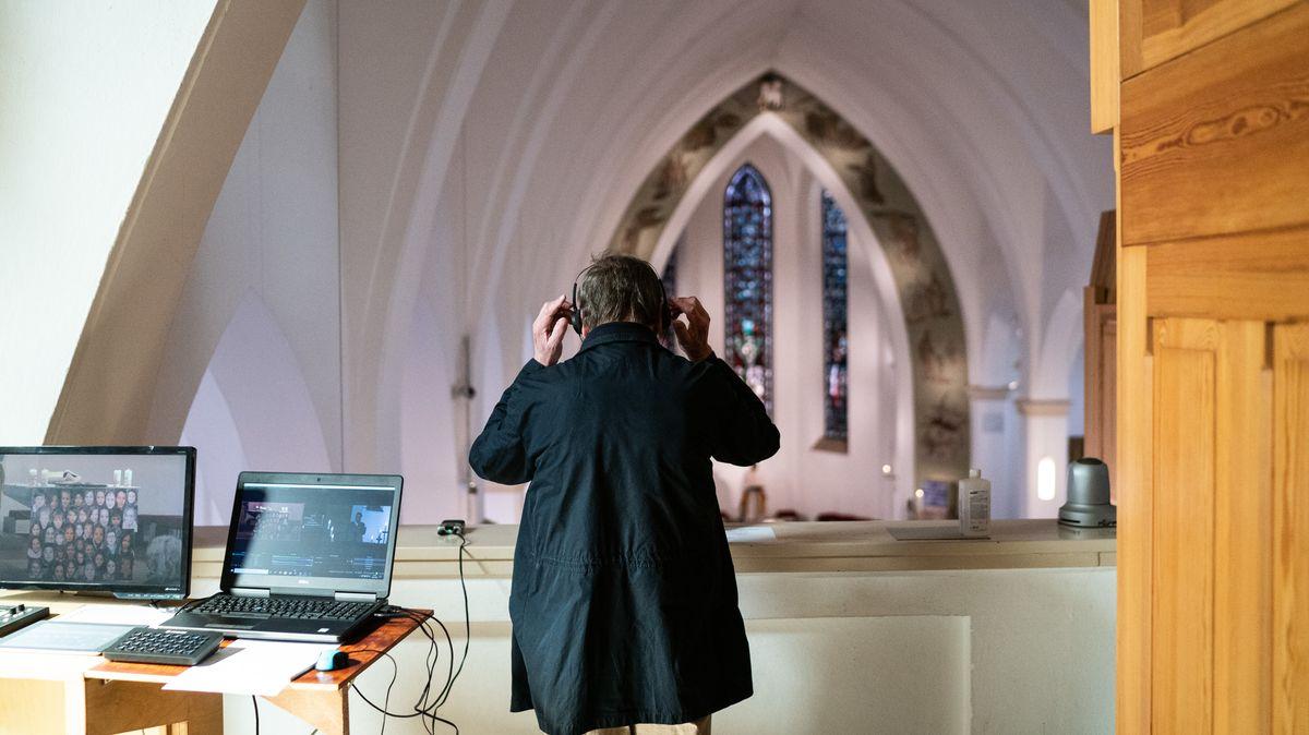 Live-Streaming von Gottesdienst in Hannover