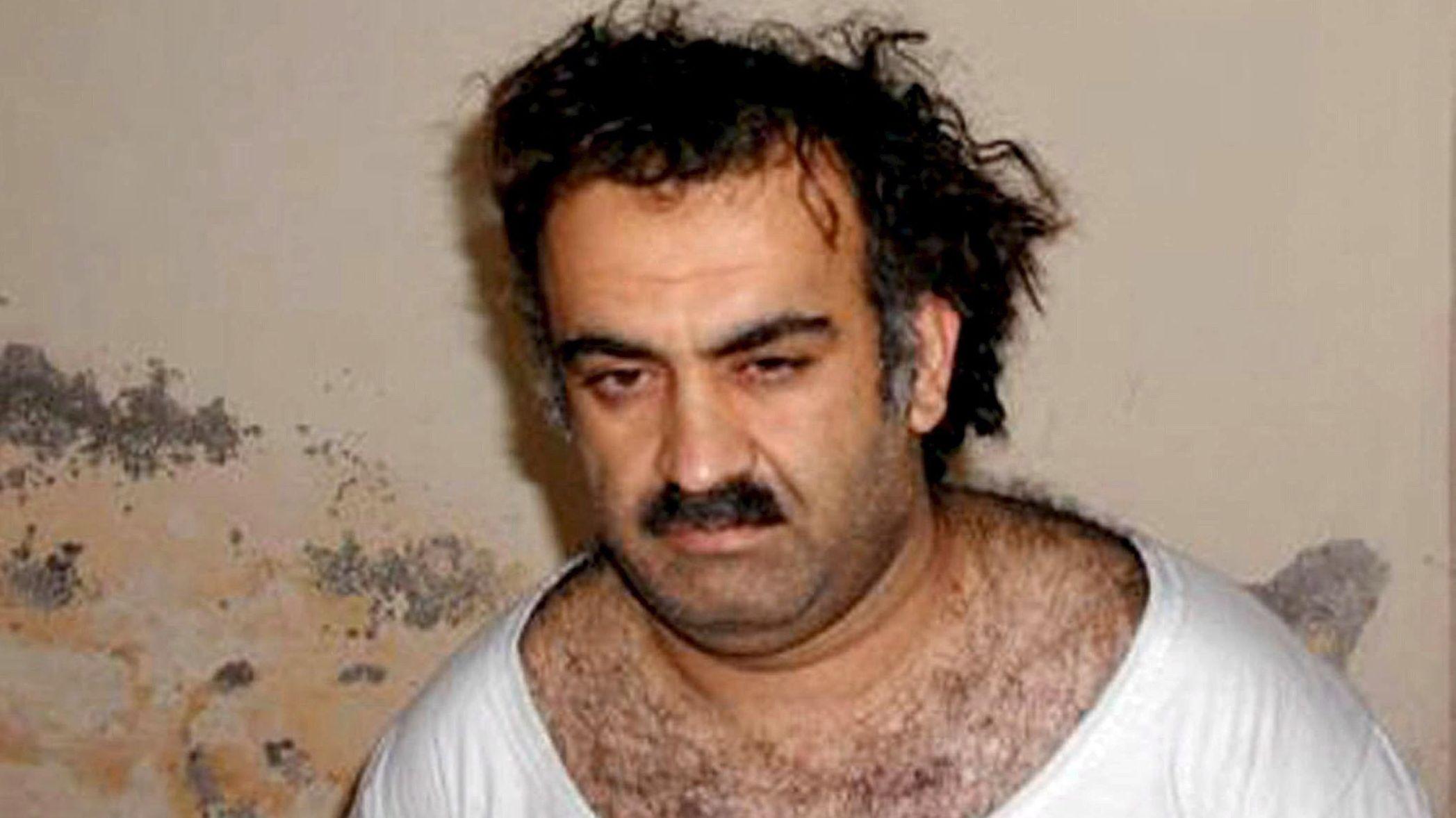 Chalid Scheich Mohammed nach seiner Festnahme