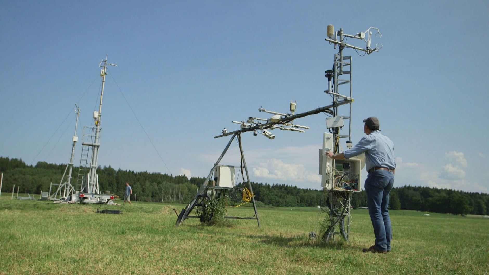 Klima-Messtationen, Drohnen, Laser und viel Hightech sollen zu genaueren Klima-Prognosen führen
