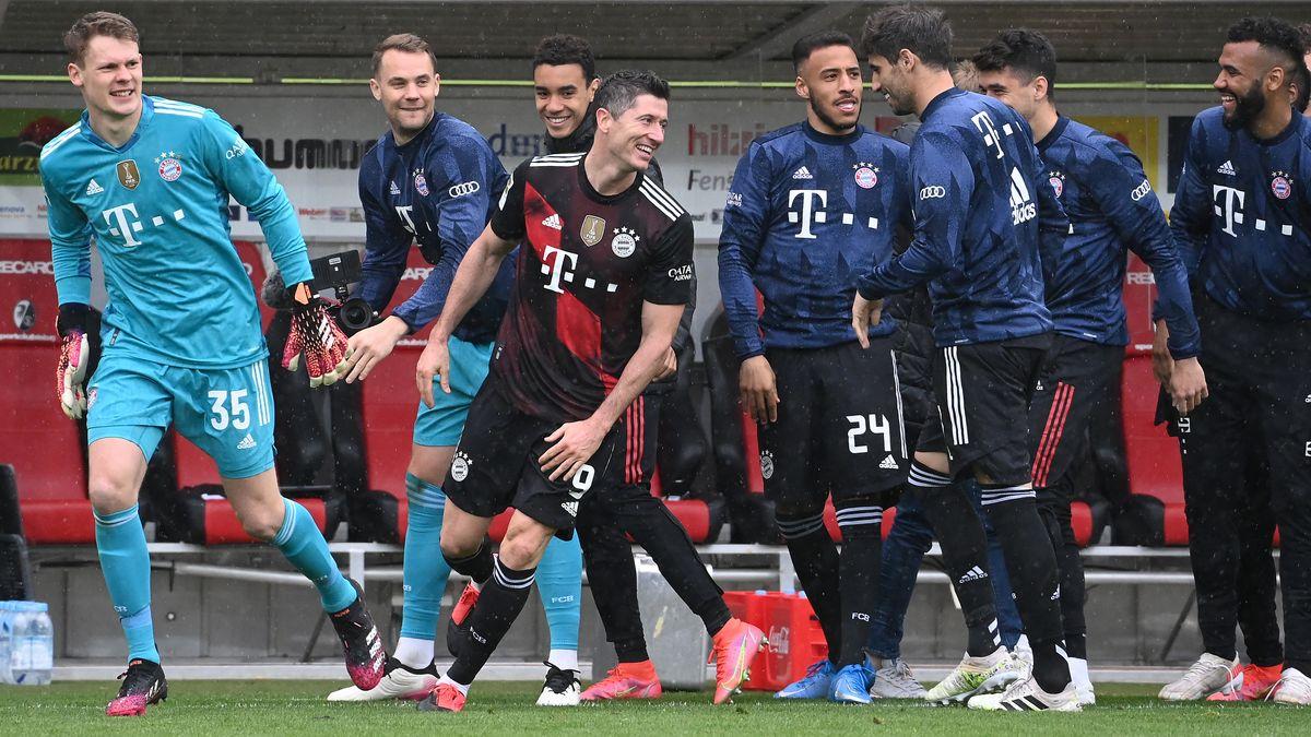 Gratulationen zu Lewandowskis 40. Saisontreffer