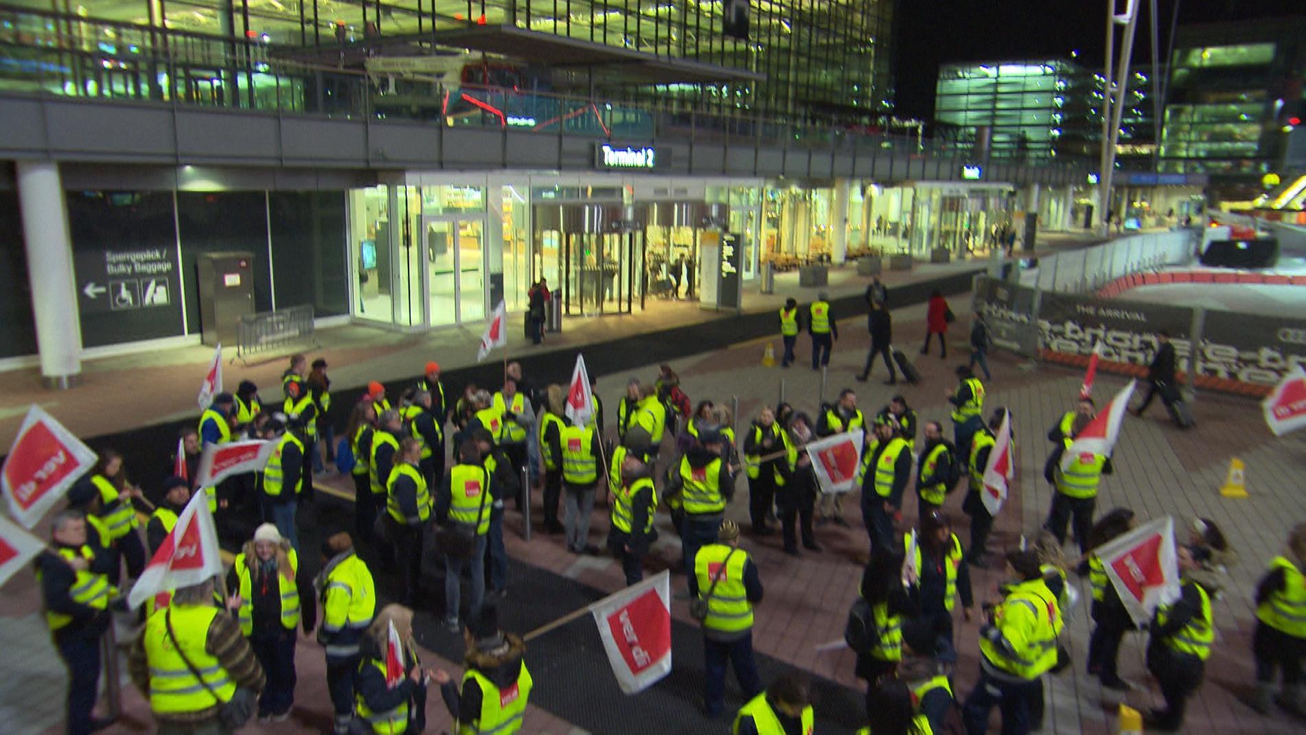Streik in München
