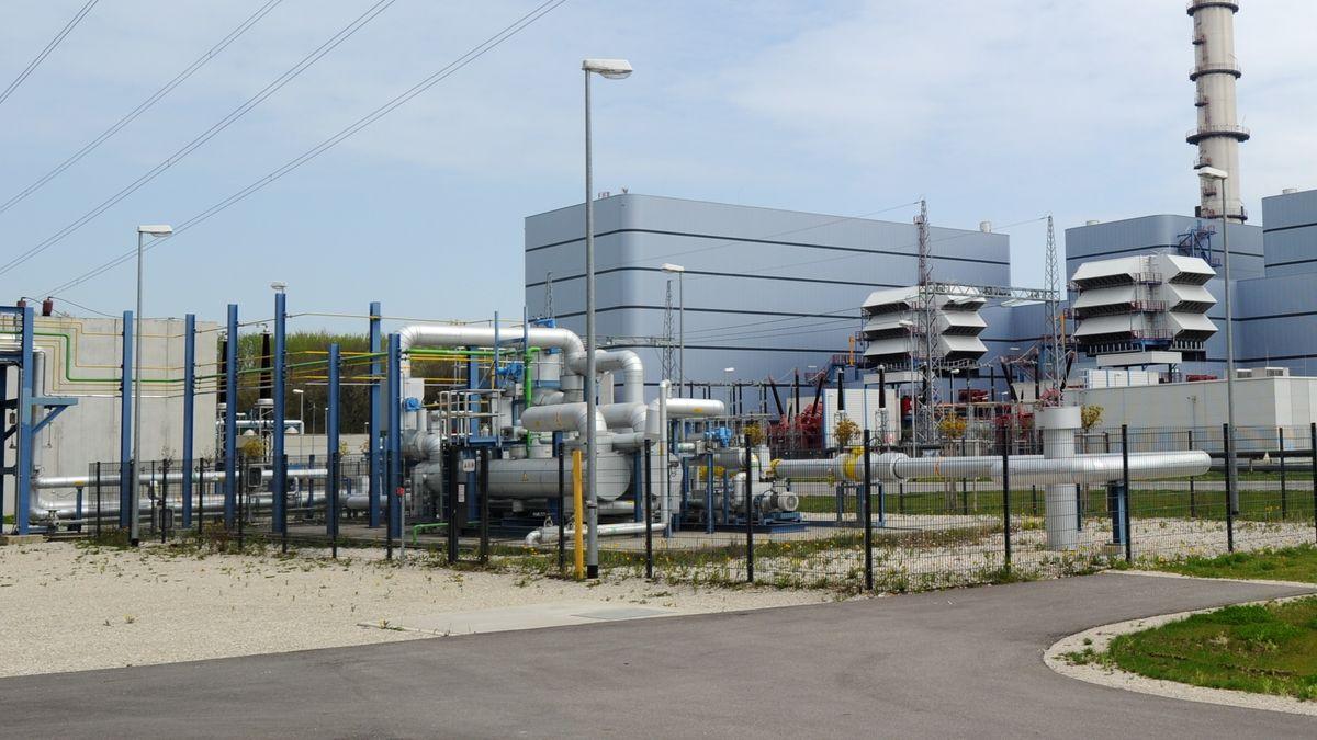 Gaskraftwerk Irsching im oberbayerischen Vohburg an der Donau