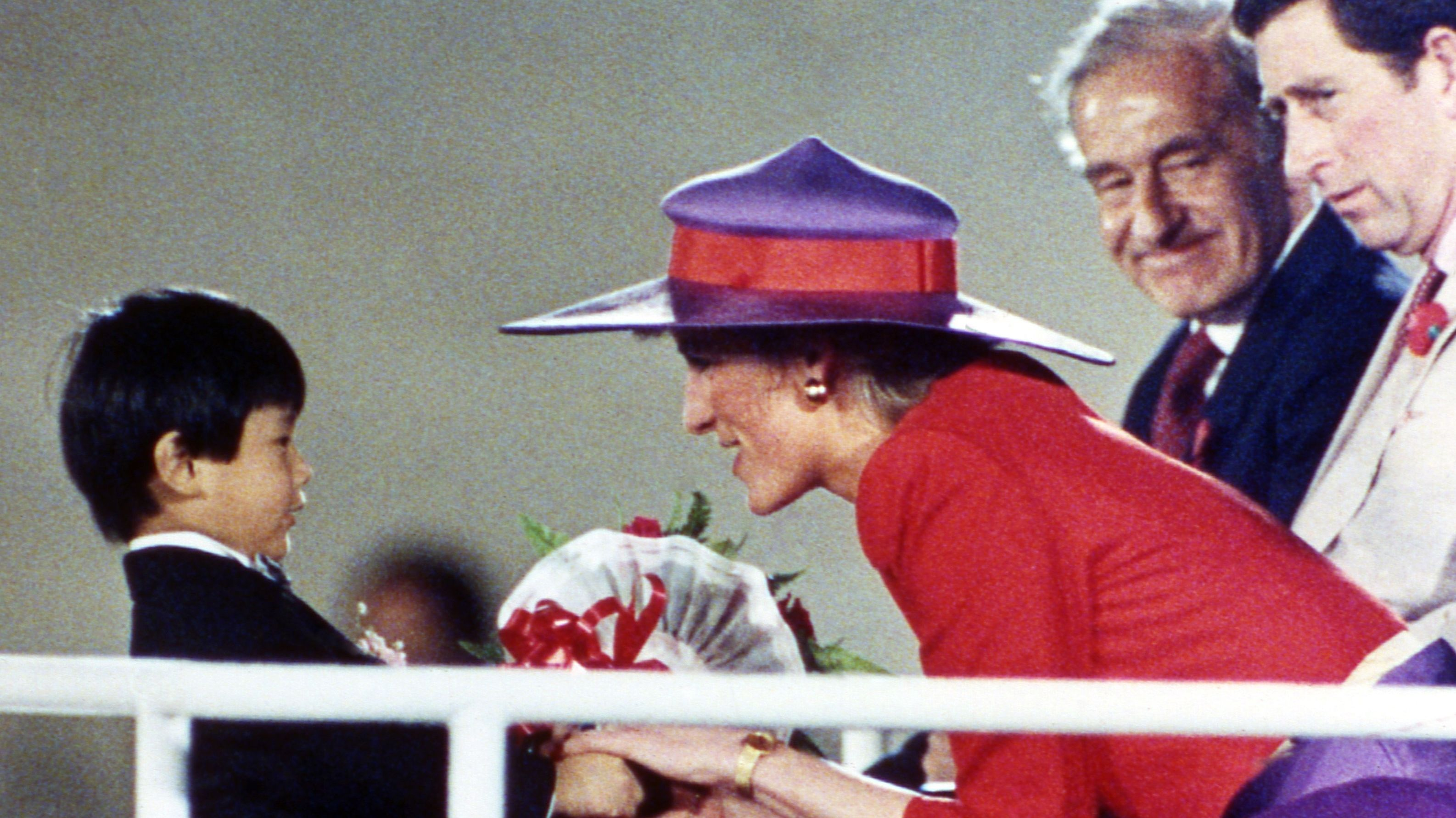 7.11.1989: Lady Dis royale Charmeoffensive in Hongkong