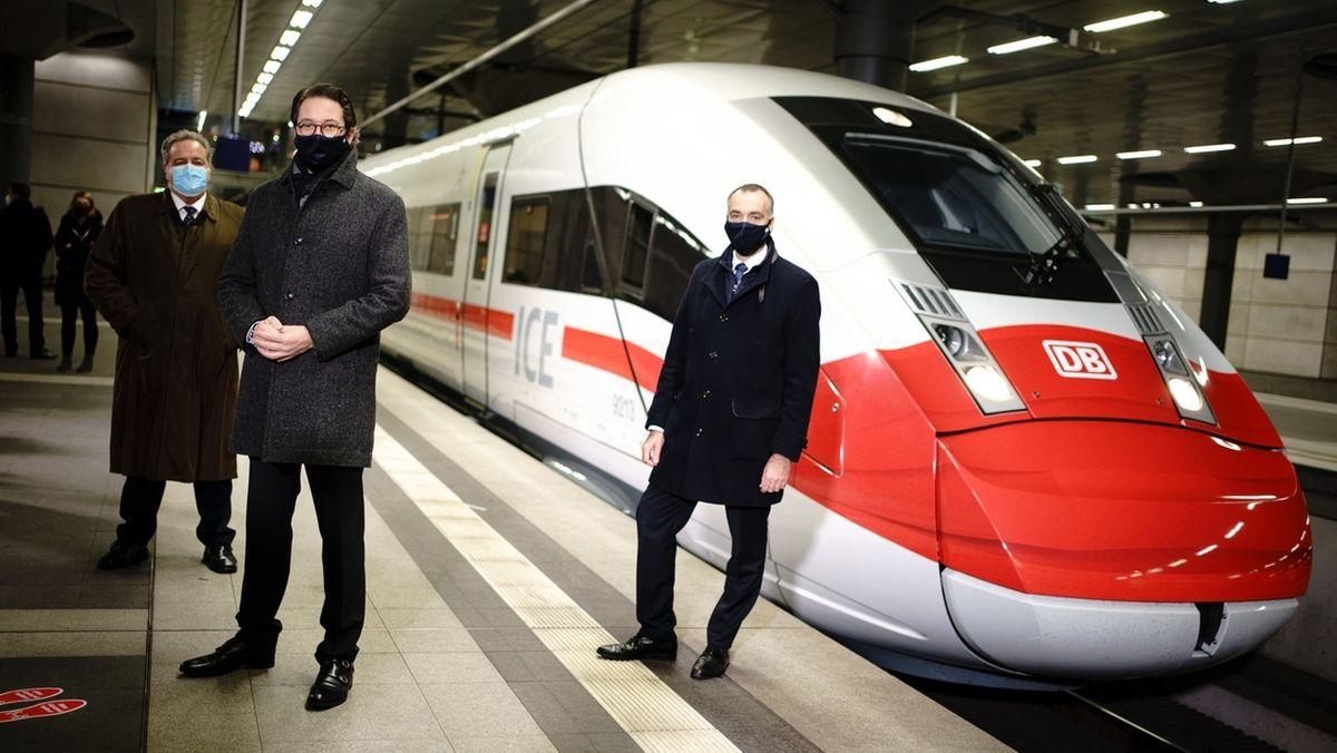 Aktionstag der Deutschen Bahn zur Maskenpflicht.