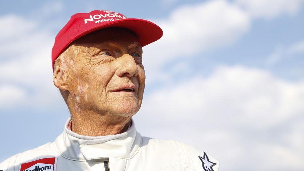 Niki Lauda | Bild:pa / dpa / ERWIN SCHERIAU