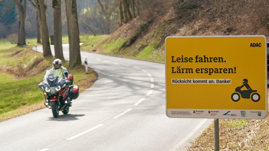 Die Polizei rechnet mit vielen Motorradfahrern zu Ostern