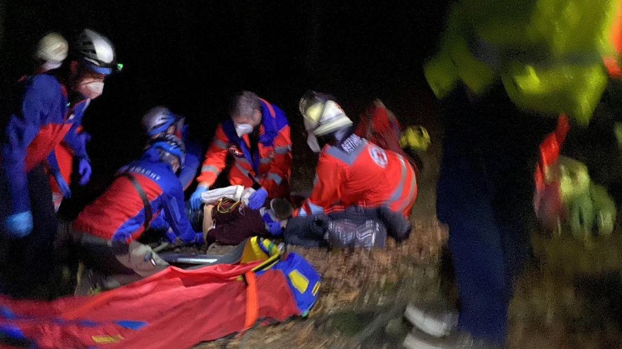 Ein junger Mann ist am Hohenglücksteig abgestürzt