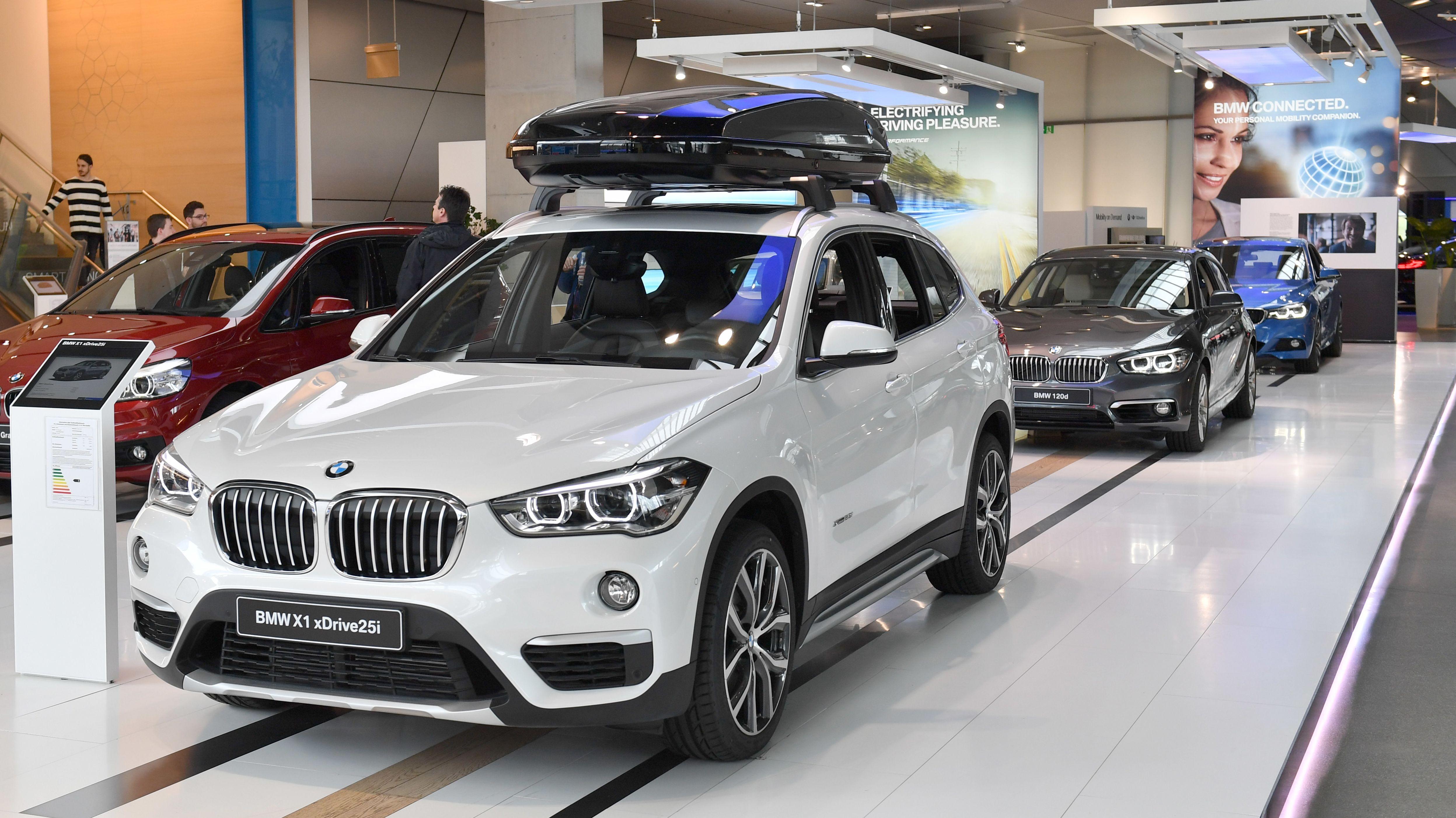 Symbolbild eines BMW X1