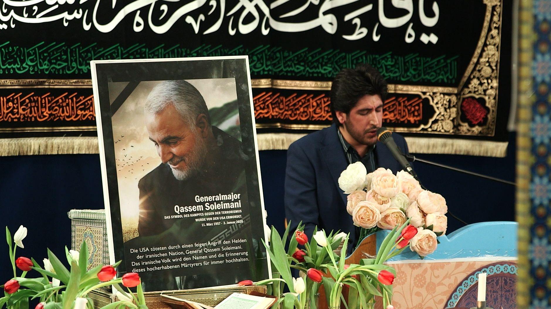 Trauerkundgebung für Soleimani
