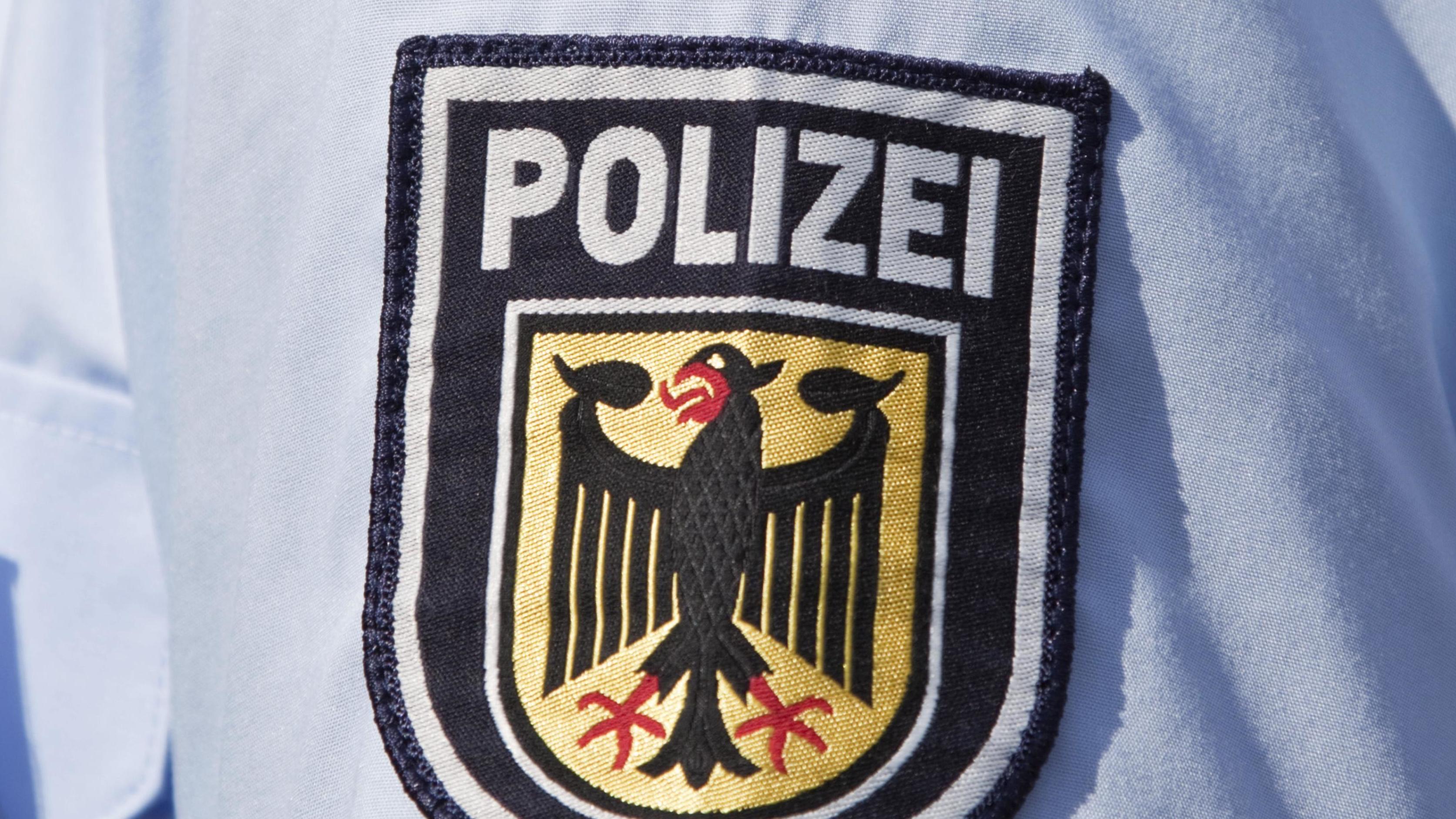 Uniform eines Bundespolizisten