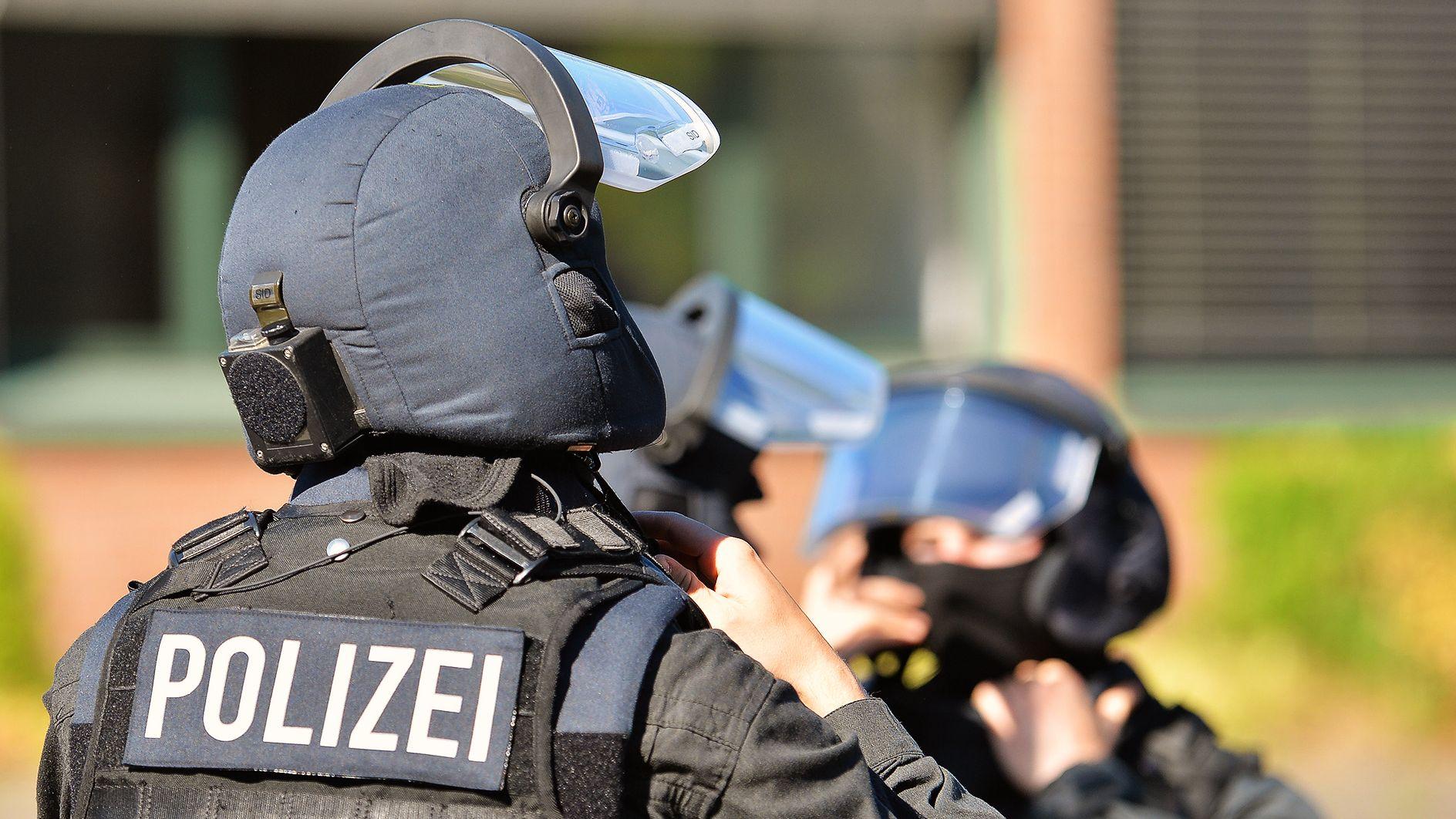 Symbolbild: Einsatz eines Spezialkommandos der Polizei
