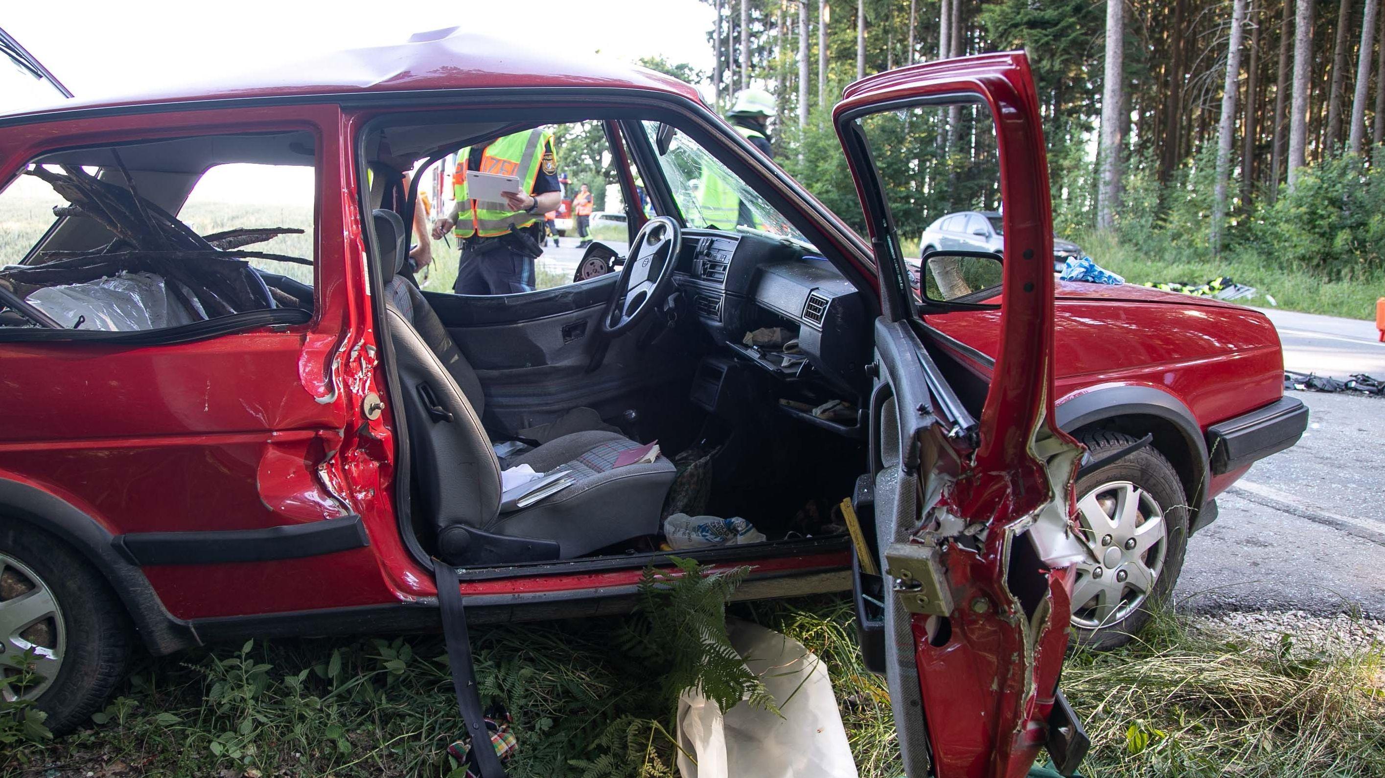 Für die Fahrerin kam jede Hilfe zu spät.