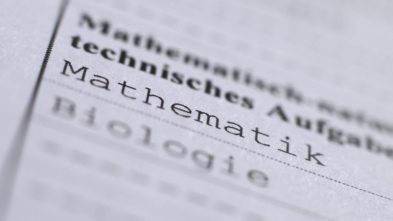 Der Bewertungsschlüssel für das diesjährige Matheabitur in Bayern bleibt auf jeden Fall bestehen.