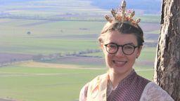 Christiane Reinhart, Fränkische Spargelkönigin 2020/21 | Bild:Christiane Reinhart