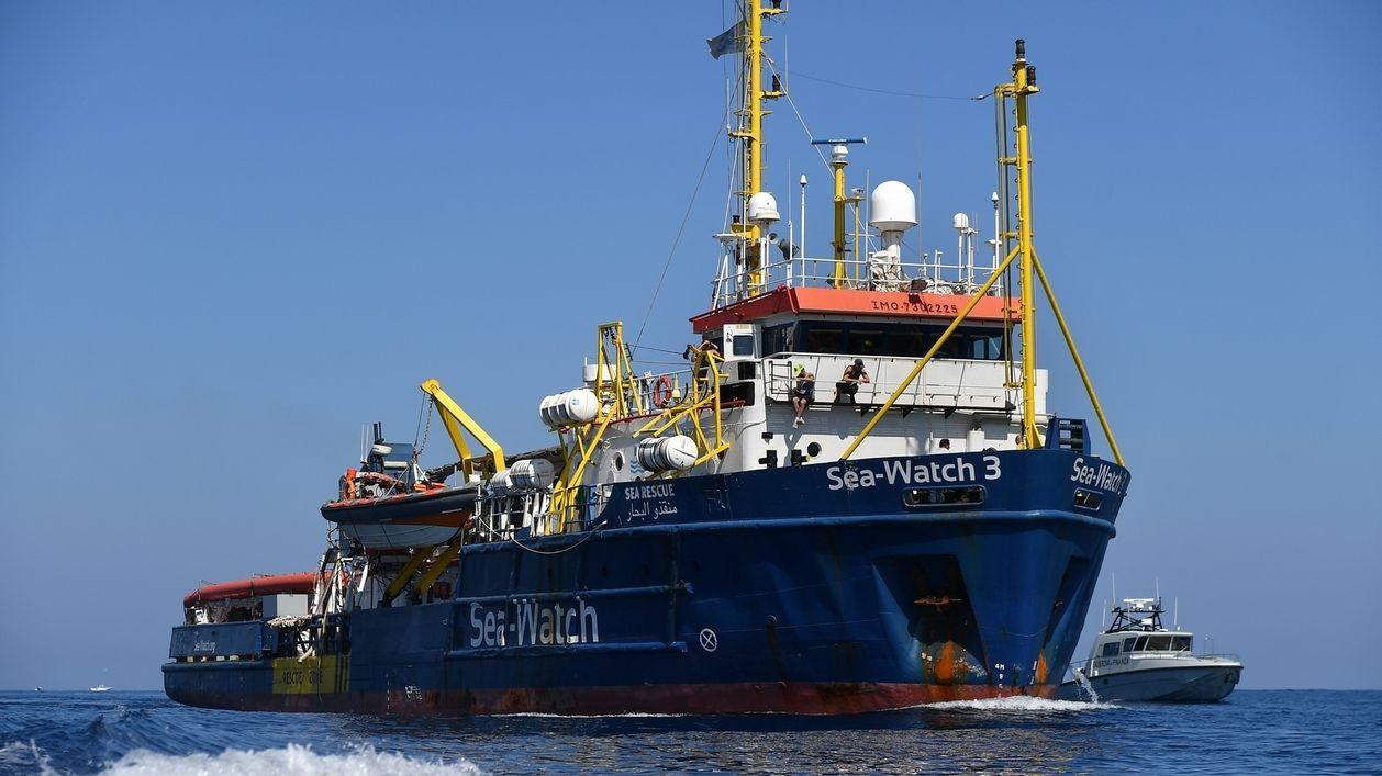 Sea-Watch vor Lampedusa, 26.6.19