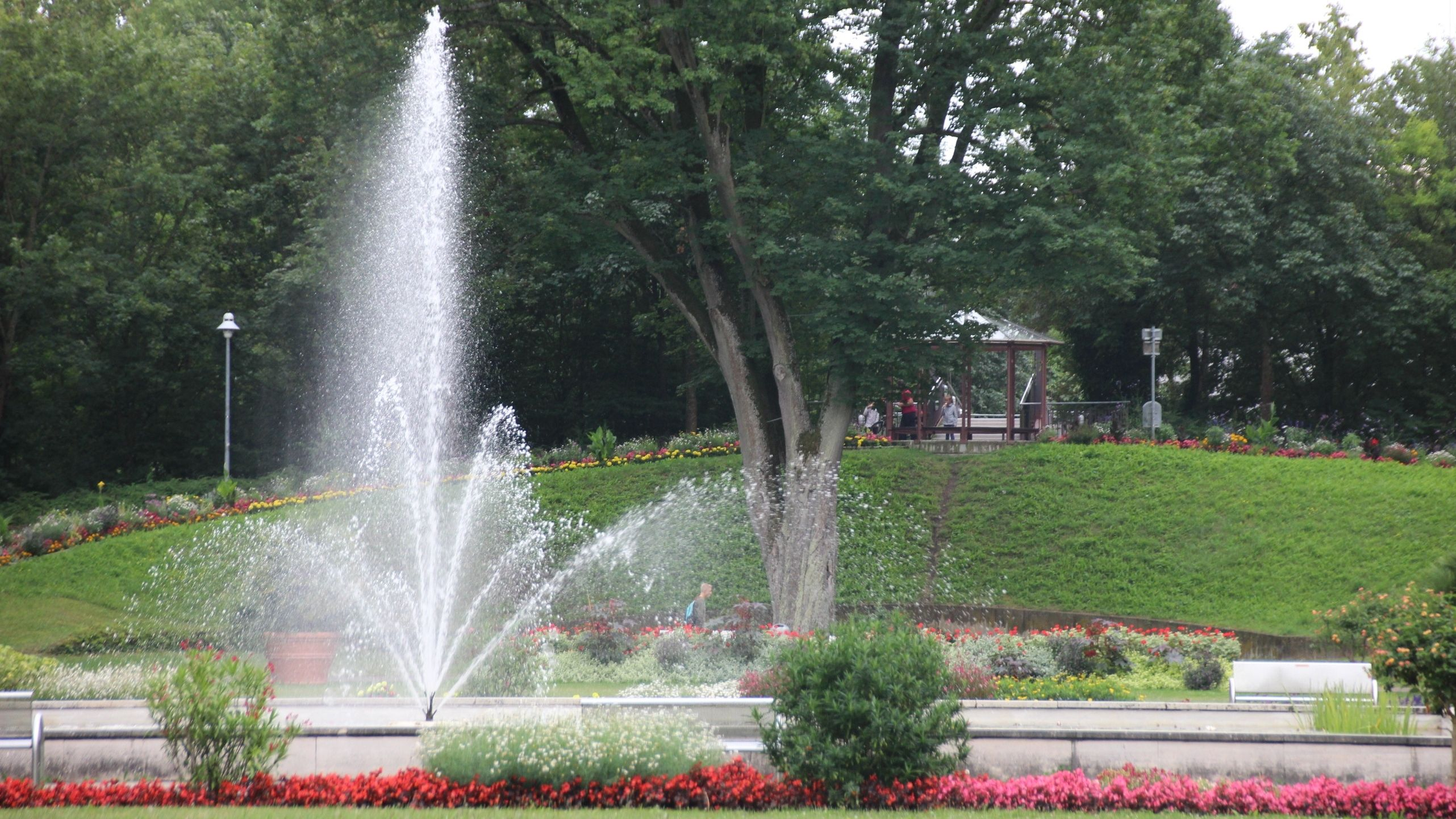 Der Kurpark in Bad Windsheim