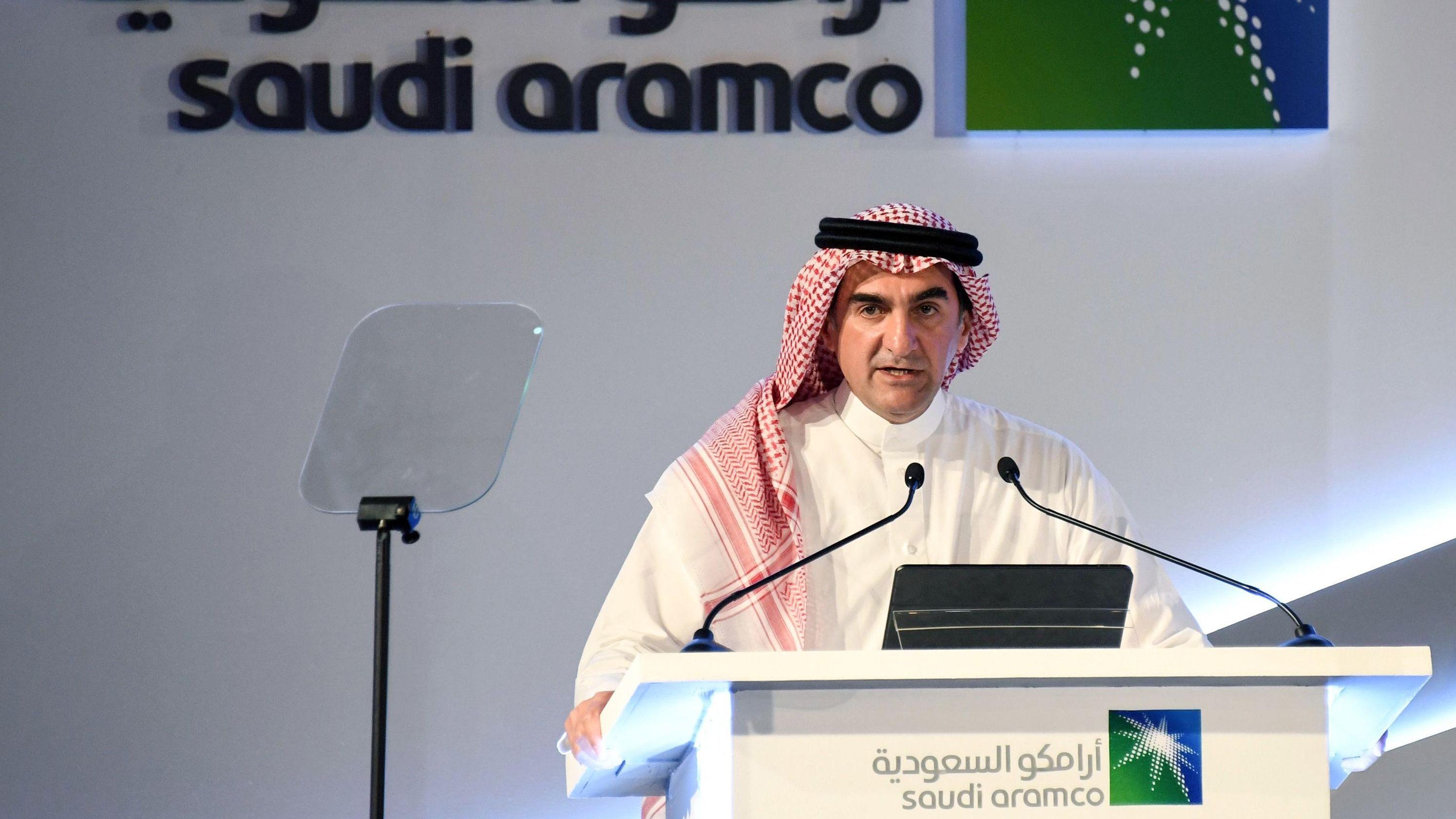 Jasir al-Rumian, Vorstandsvorsitzender des  Ölkonzerns Saudi Aramco