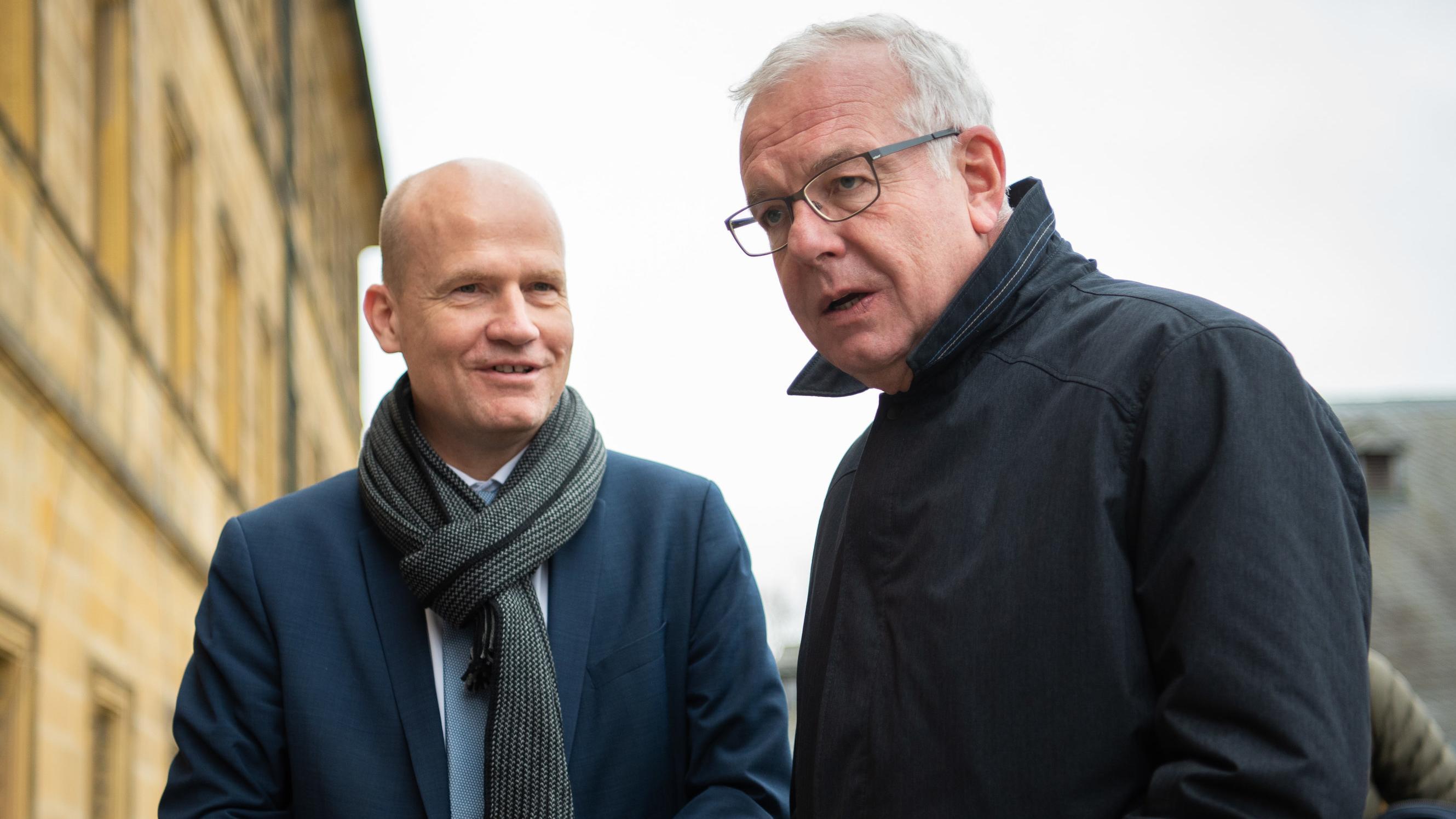 Ralph Brinkhaus und Thomas Kreuzer