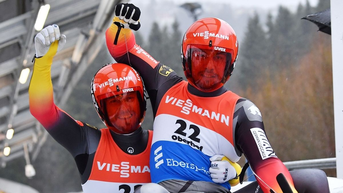 Rodel-Doppelsitzer Tobias Wendl/Tobias Arlt