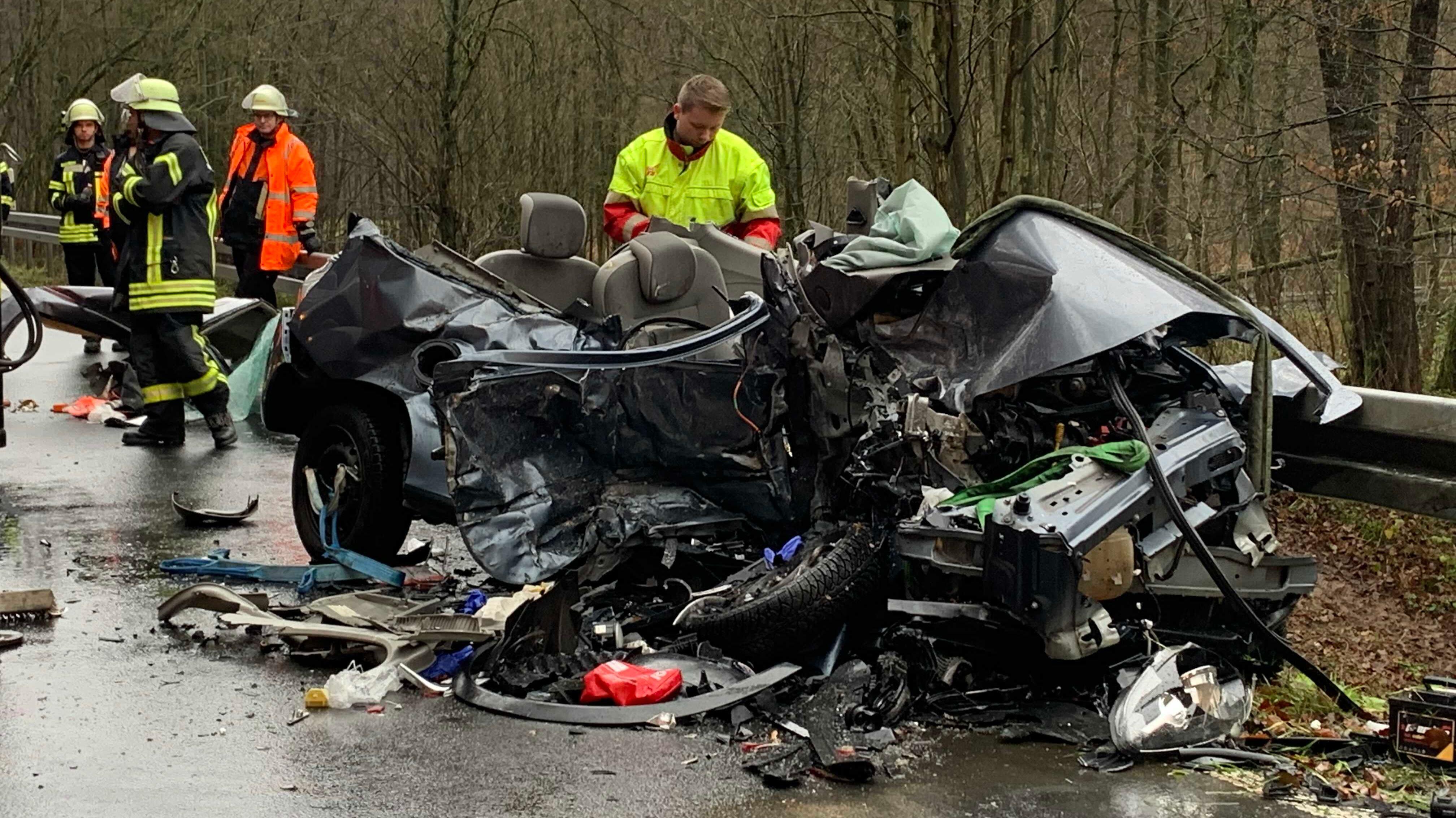Tödlicher Verkehrsunfall in Eschau (Lkr. Miltenberg)