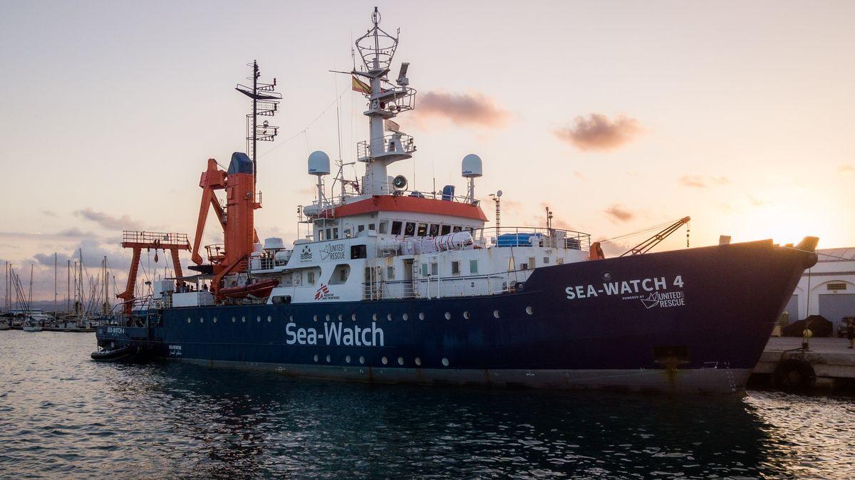 Seenotrettungsschiff Seawatch 4