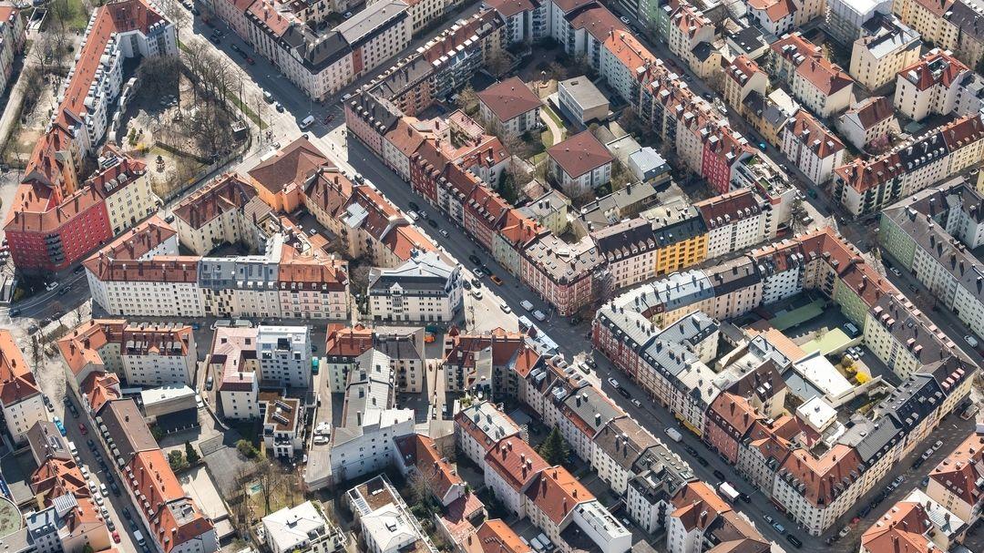 Die Innenstadt von München
