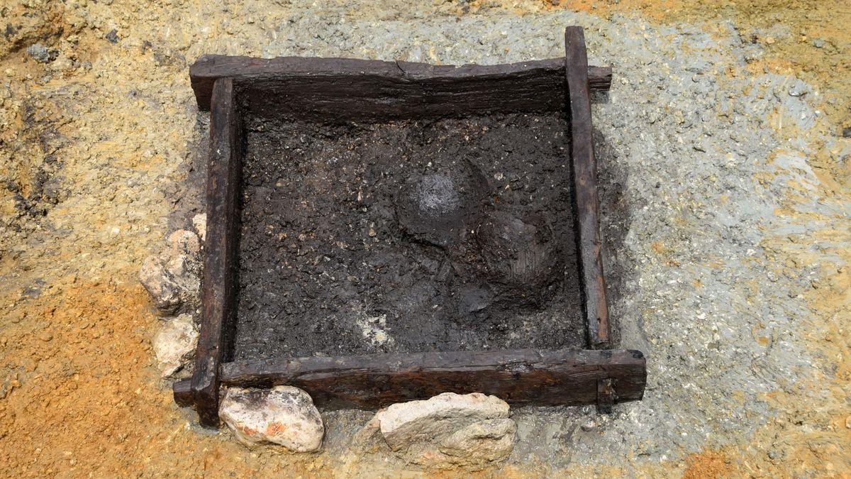 Keltischer Brunnen aus dem Jahr 133 vor Christus