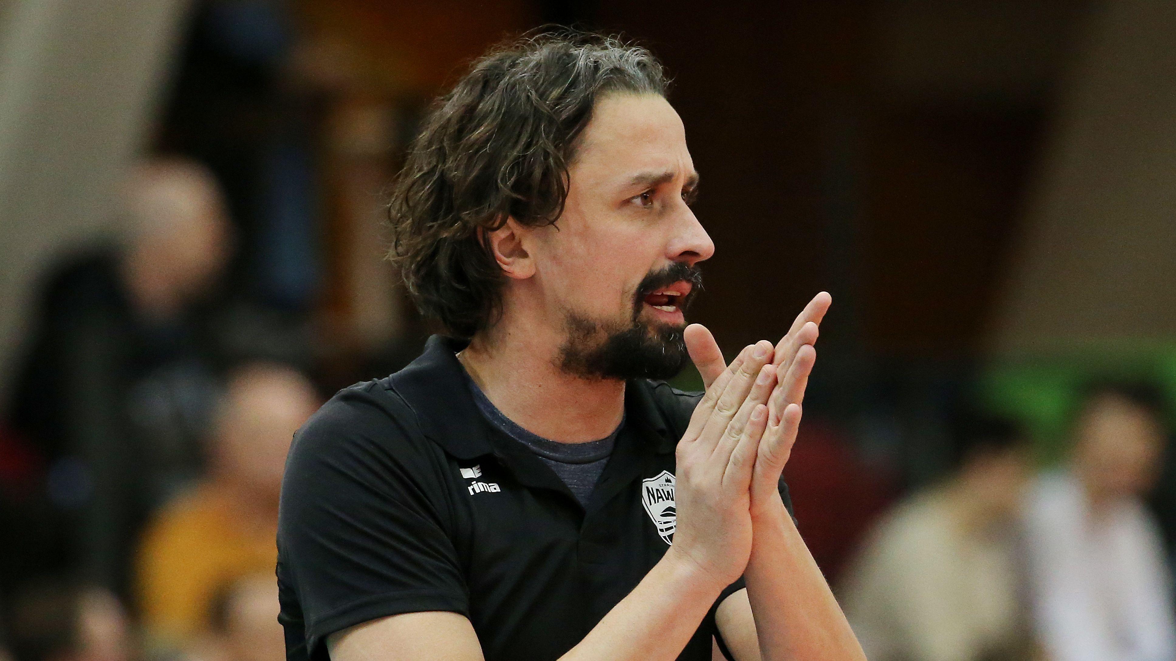 Benedikt Frank, Trainer von Nawaro Straubing