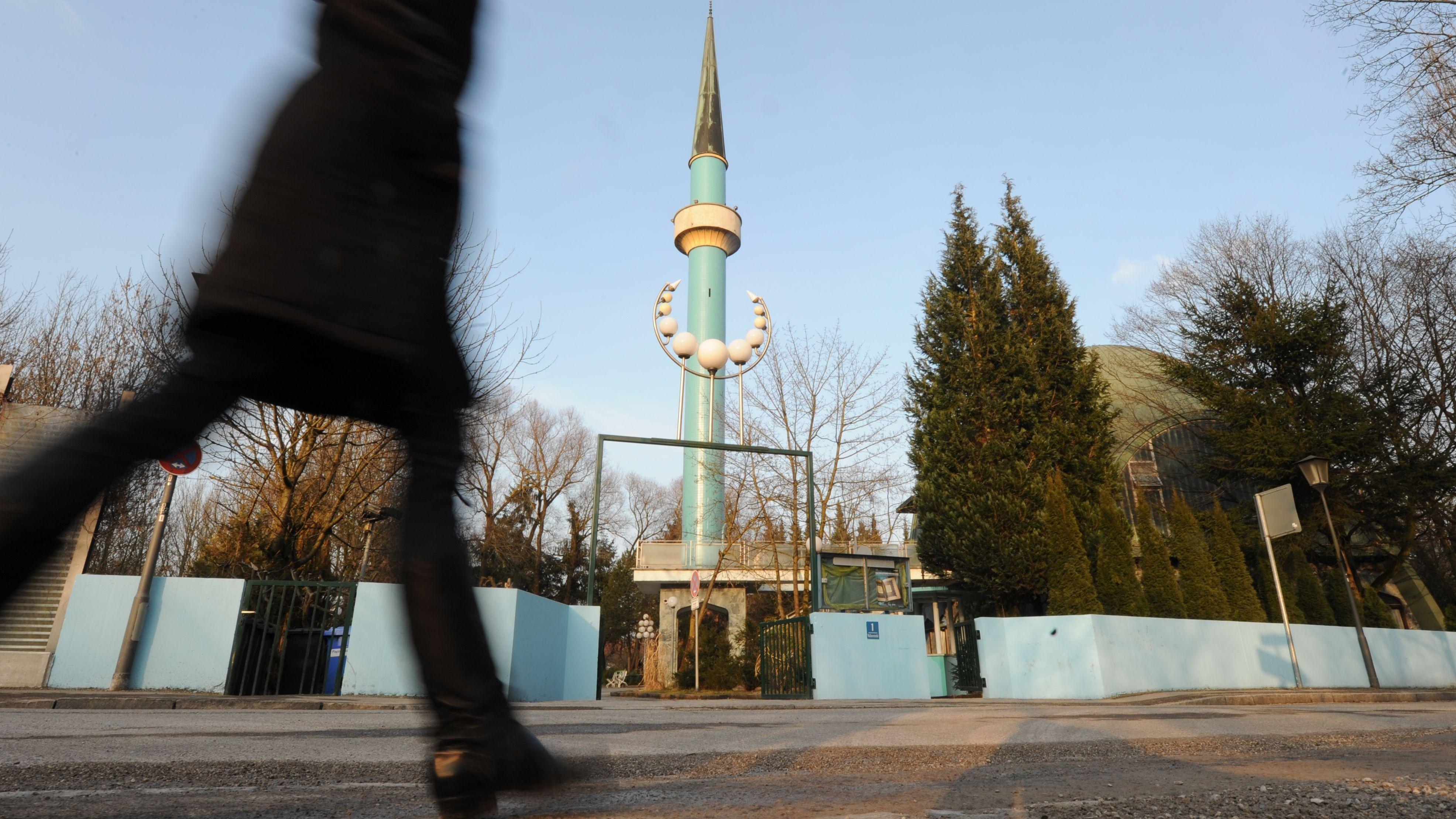 Blick auf das Islamische Zentrum München